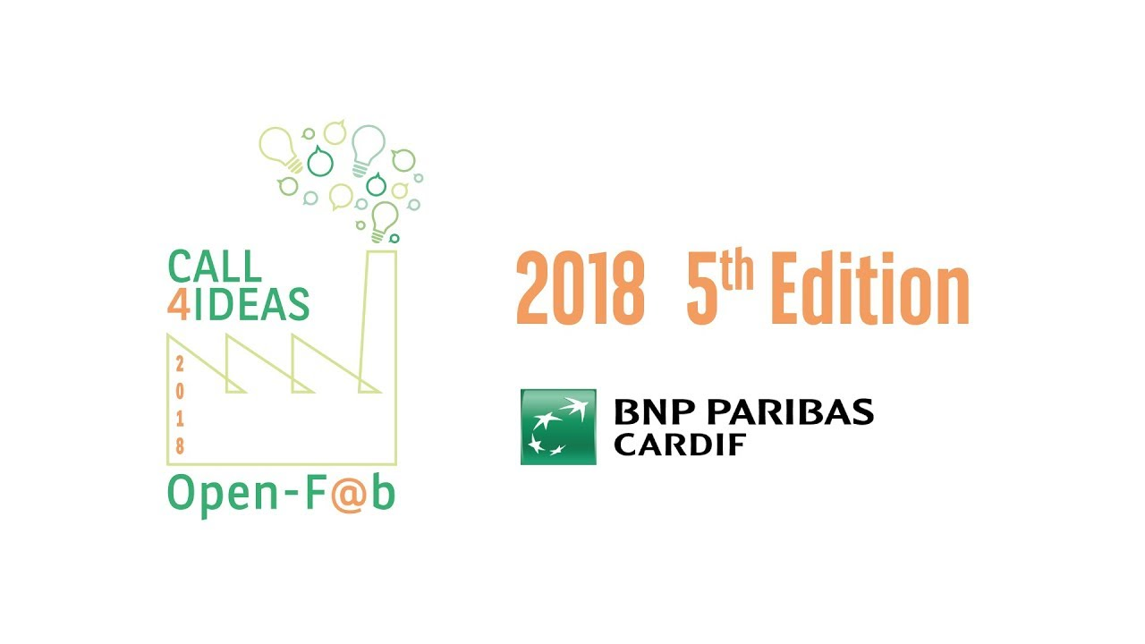 BNP Paribas Cardif: al via l'Open-F@b Call4Ideas 2018 thumbnail