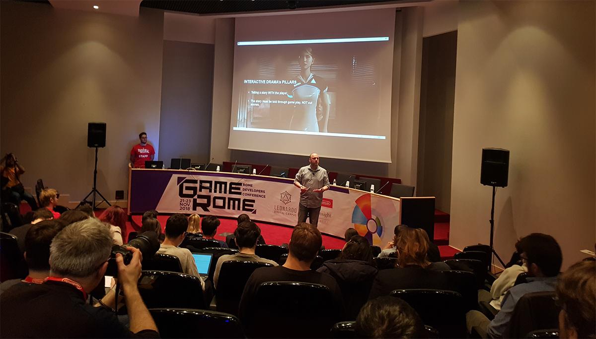 Game Rome 2018: lavorare con i videogame è una cosa seria thumbnail
