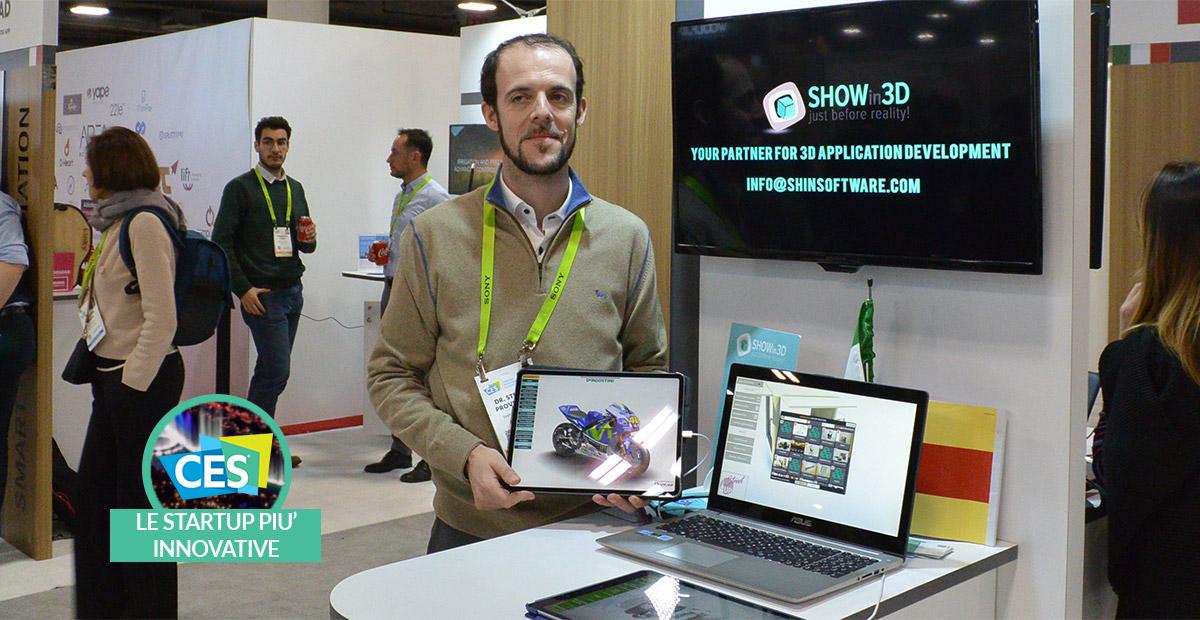 Shin Software: le soluzioni per il 3D interattivo | CES 2019 thumbnail