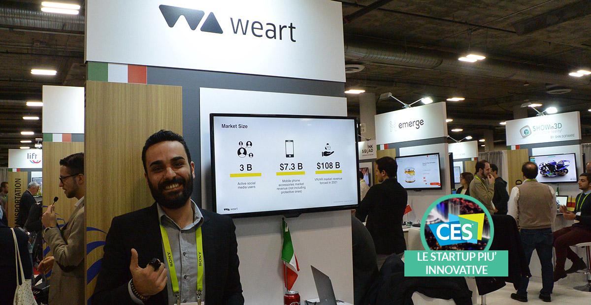 Weart: l'anello per trasmettere le sensazioni tattili | CES 2019 thumbnail