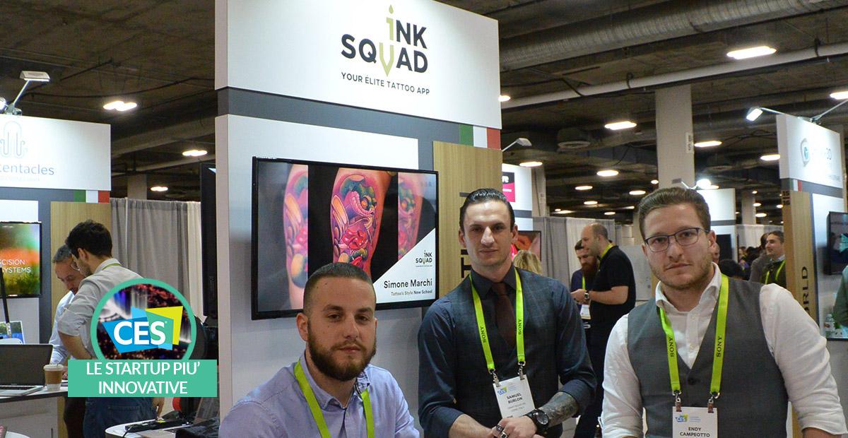InkSquad: un social per trovare il tatuaggio perfetto | CES 2019 thumbnail