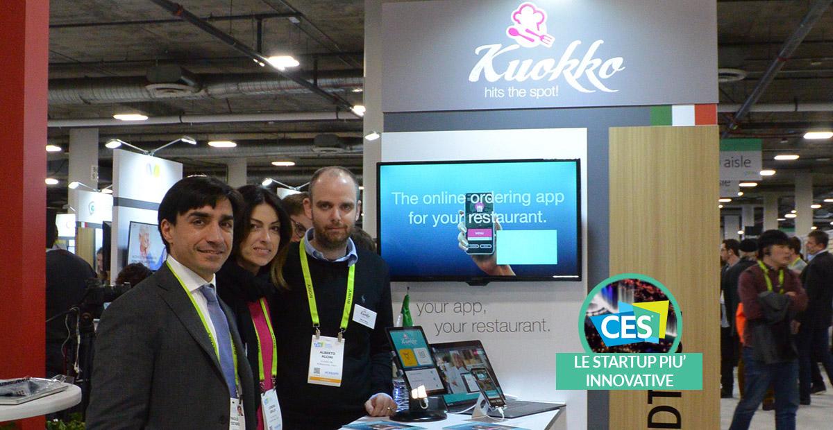 Kuokko: un aiuto tecnologico per la ristorazione | CES 2019 thumbnail