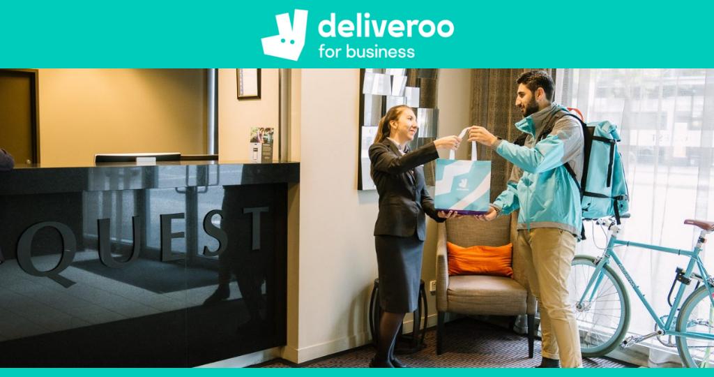 Deliveroo for Business: il fatturato cresce del 150% thumbnail