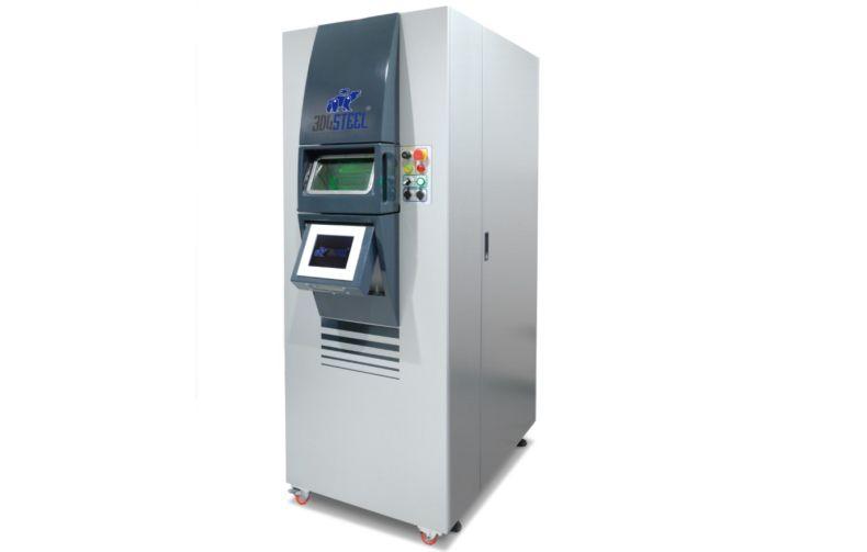 3D4STEEL, arriva la stampante 3D per metalli costruita in Italia thumbnail