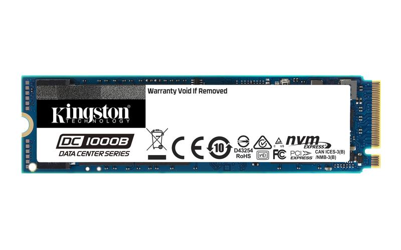 Kingston Technology presenta l'SSD per i data center aziendali thumbnail