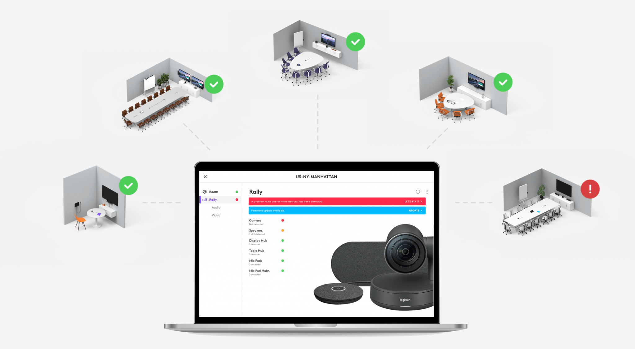 Arriva Sync, la nuova piattaforma di Logitech dedicata alle videoconferenze thumbnail