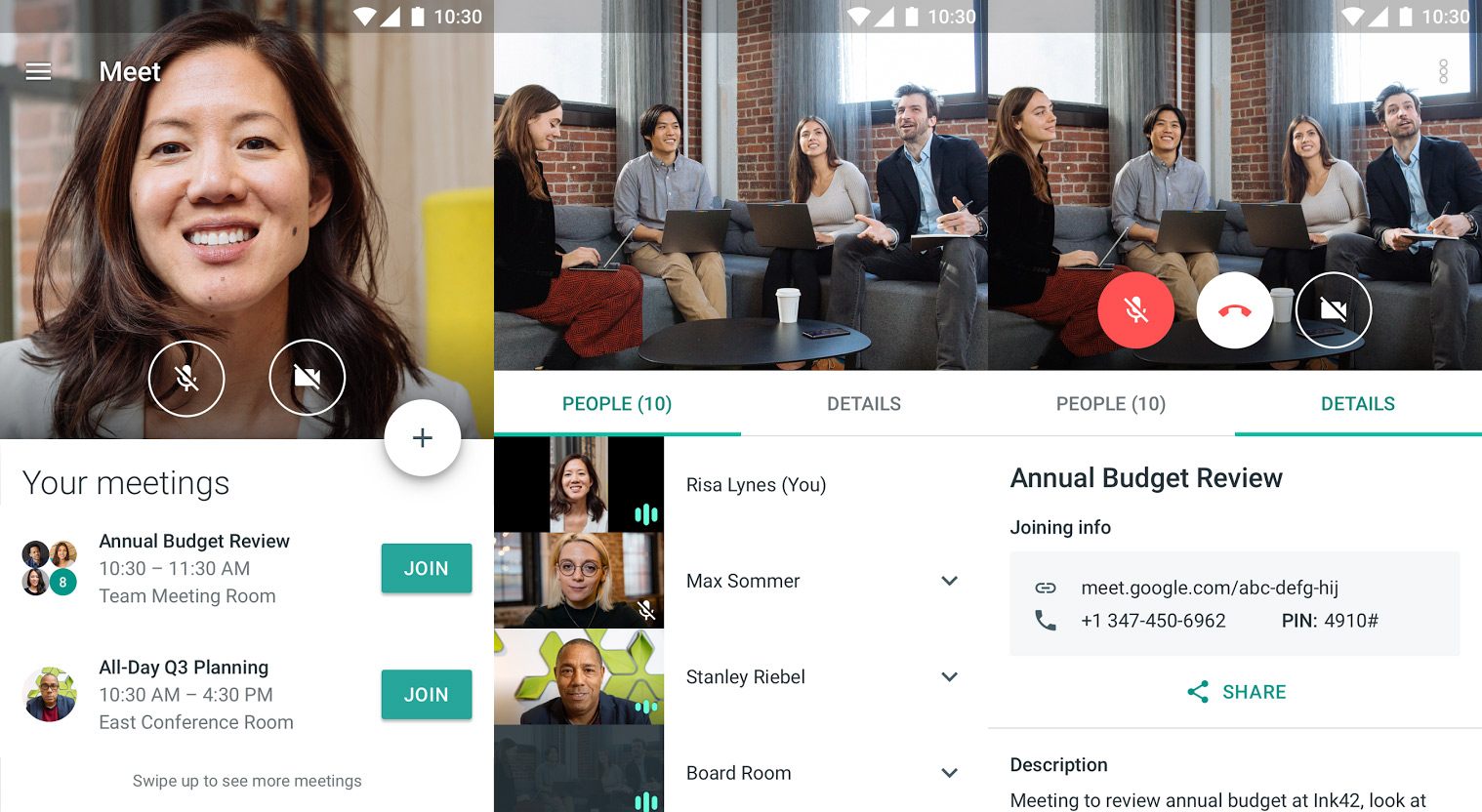 Google Hangout Meet