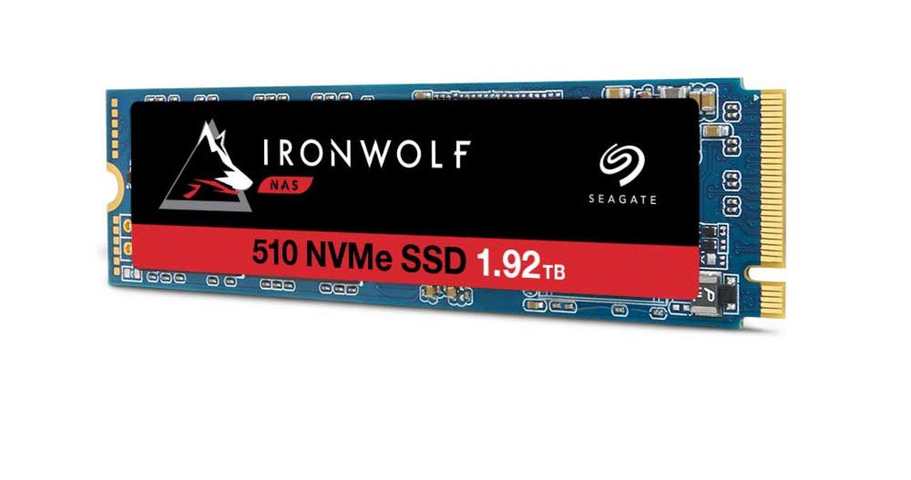 Seagate IronWolf 510, il primo SSD NVMe per NAS aziendali thumbnail