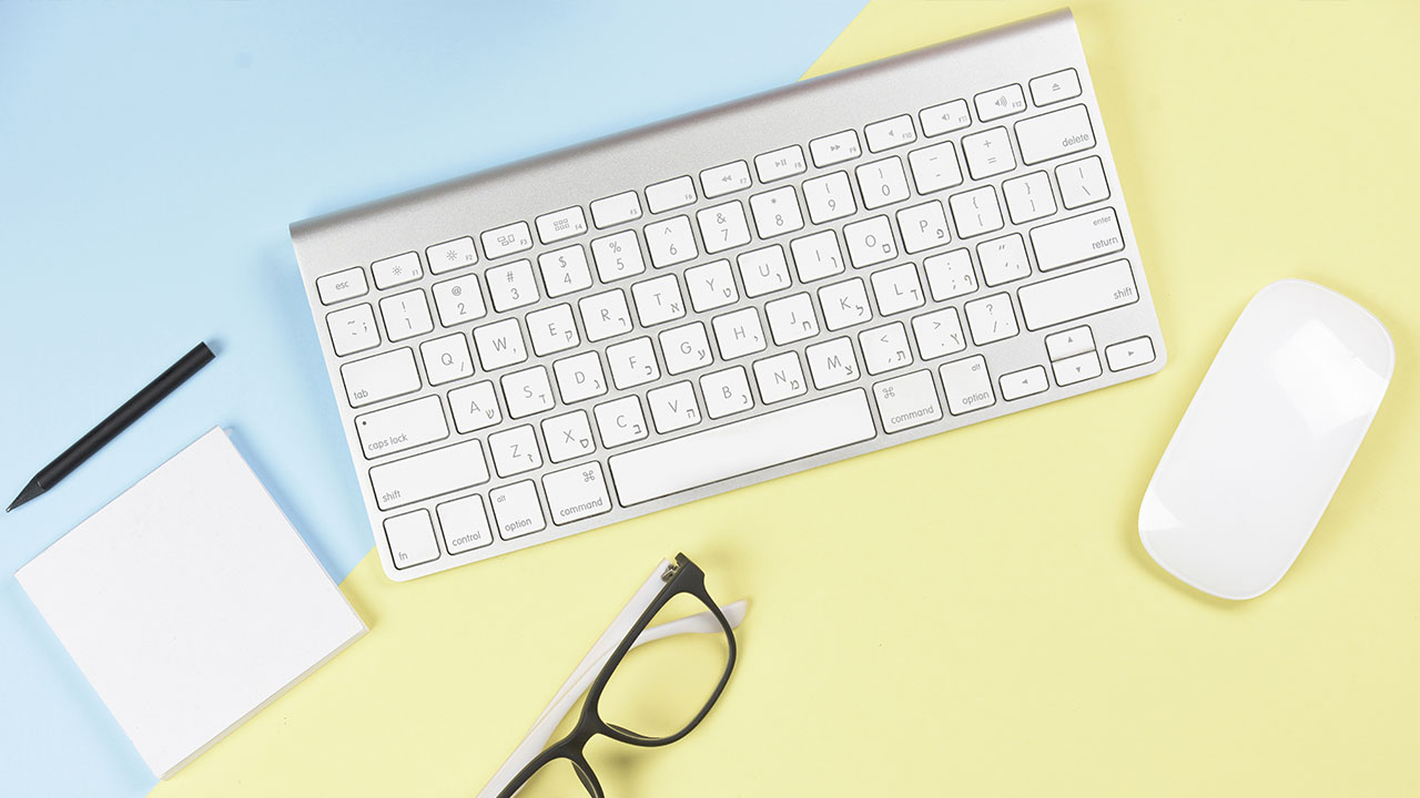 lavorare da casa guida mouse tastiera