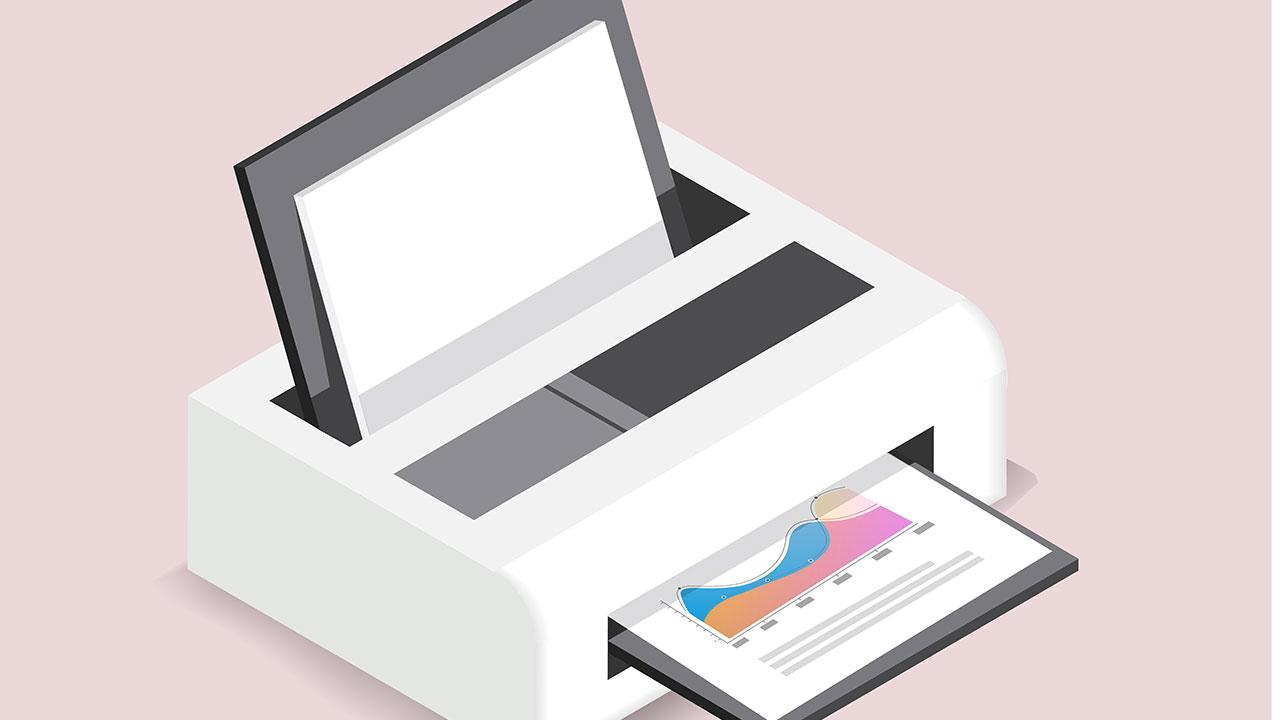 lavorare da casa guida stampante