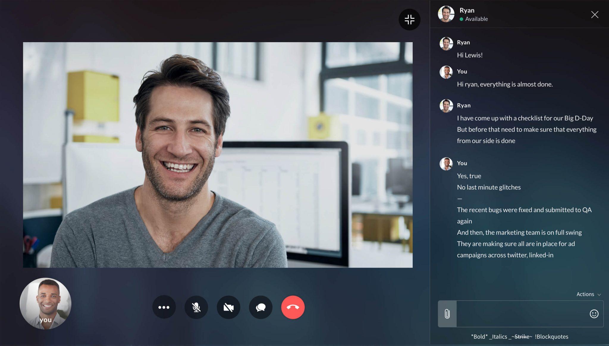 videochiamata skype zoom smart working