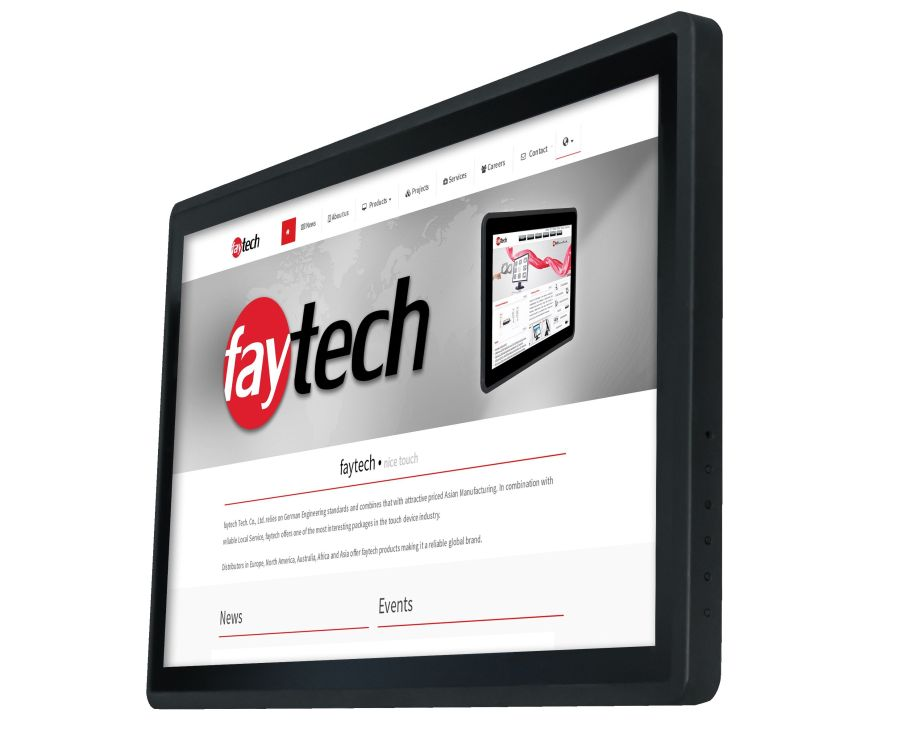 display industriali touchscreen