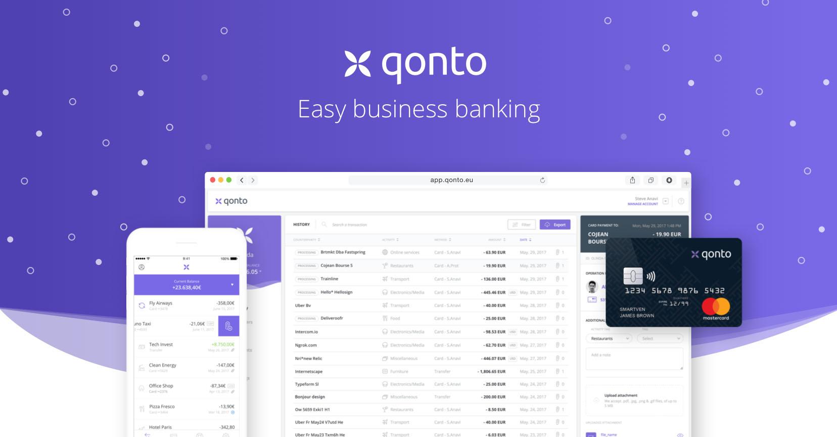 Con Qonto ricevere e inviare bonifici SWIFT è economico thumbnail