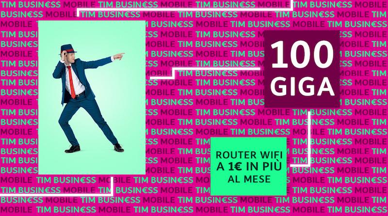 offerte telefonia mobile Ottobre TIM Deluxe Dati Business