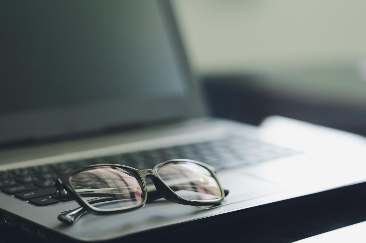 smart working occhi