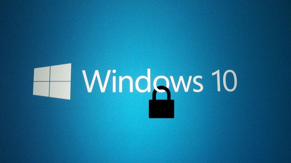 Problemi di sicurezza Windows 10