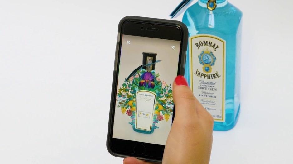 marketing realtà aumentata aryel gin