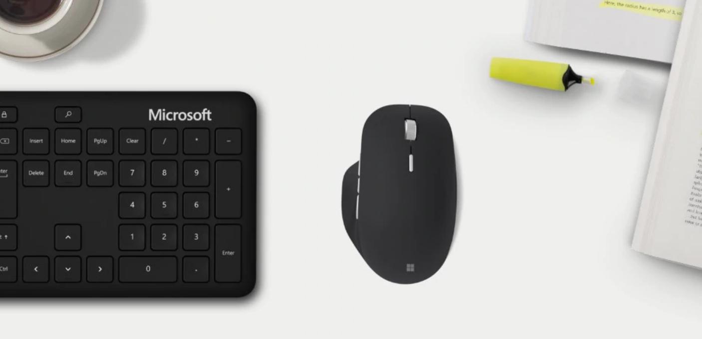 Microsoft Precision Mouse migliori mouse ergonomici smart working