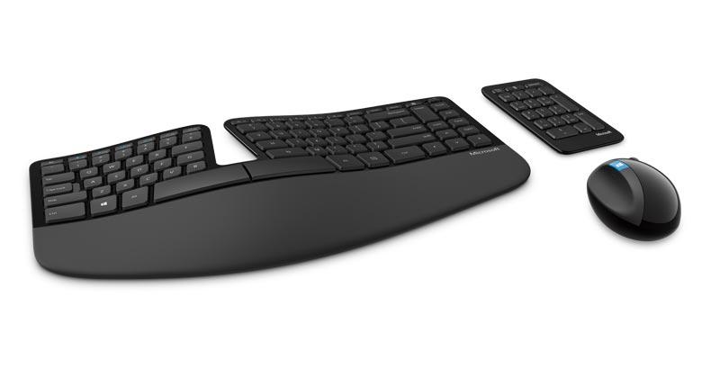 Microsoft Sculpt Ergonomic Desktop migliore tastiere ergonomiche smart working