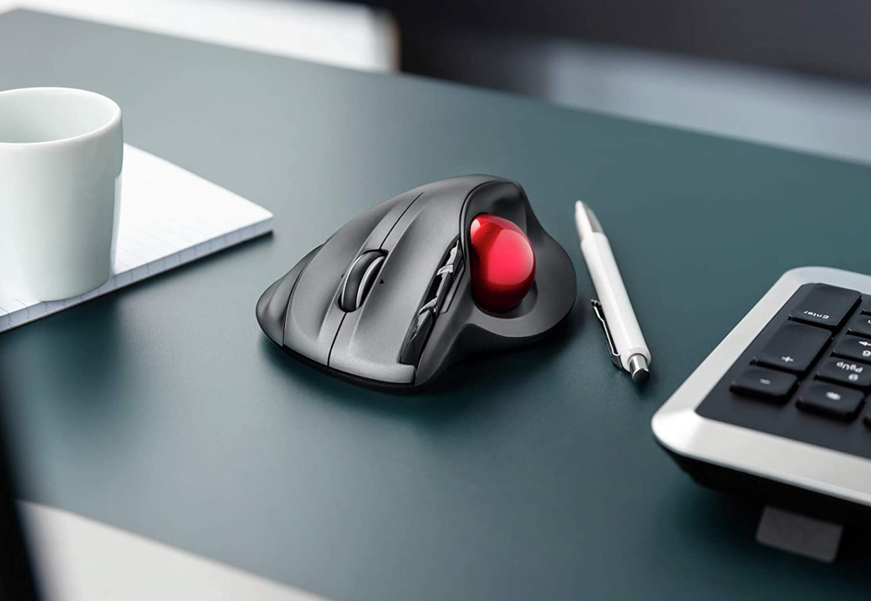 Trust Sferia Trackball Wireless Mouse migliori mouse ergonomici smart working