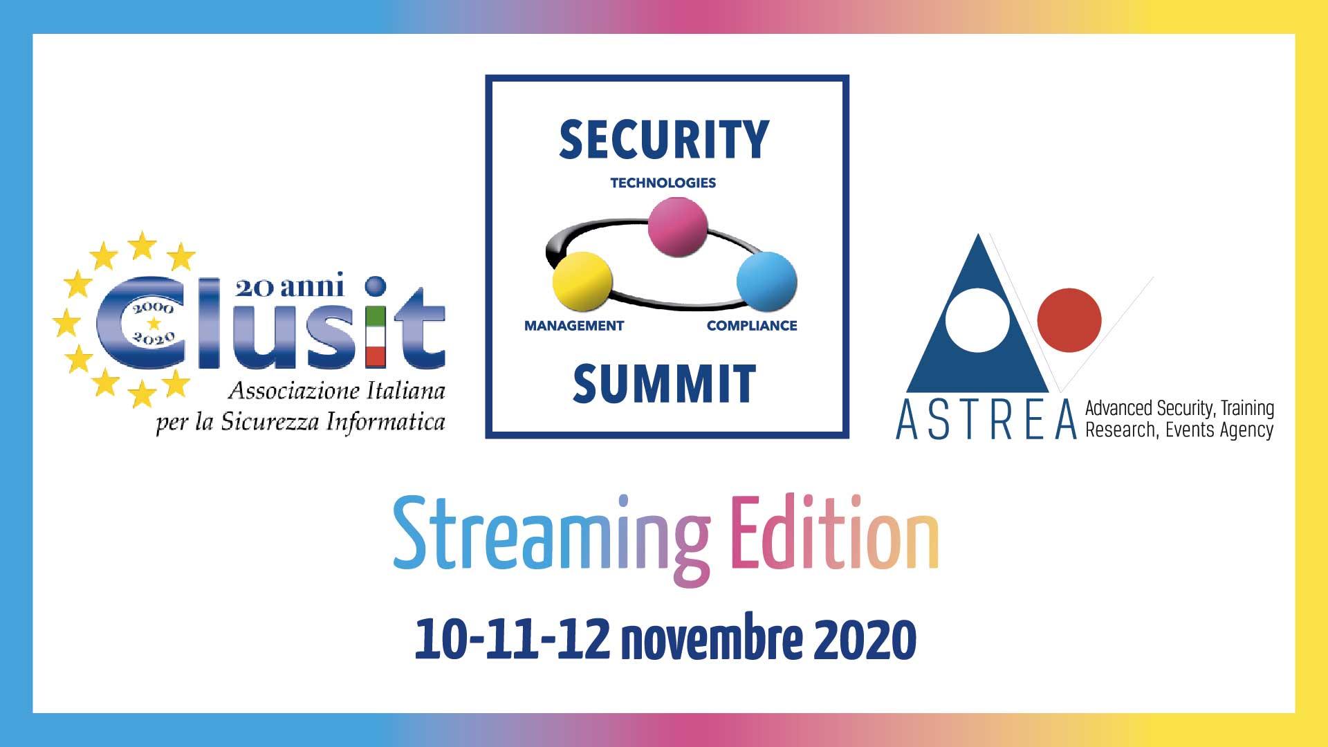 Security Summit Streaming Edition, al via i tre giorni dedicati alla sicurezza informatica thumbnail