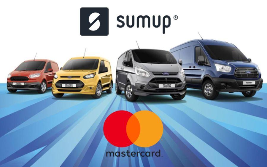 SumUp e Mastercard portano i pagamenti digitali sui veicoli commerciali Ford thumbnail