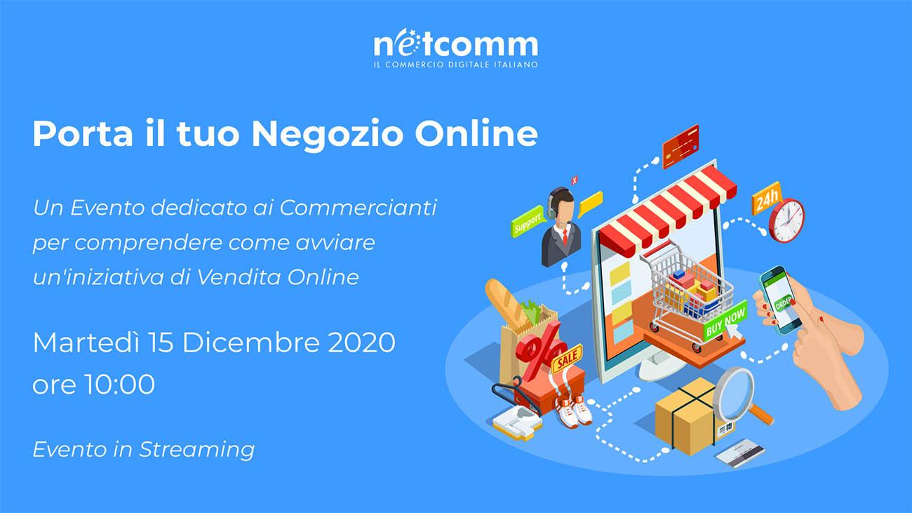 attività online netcomm porta