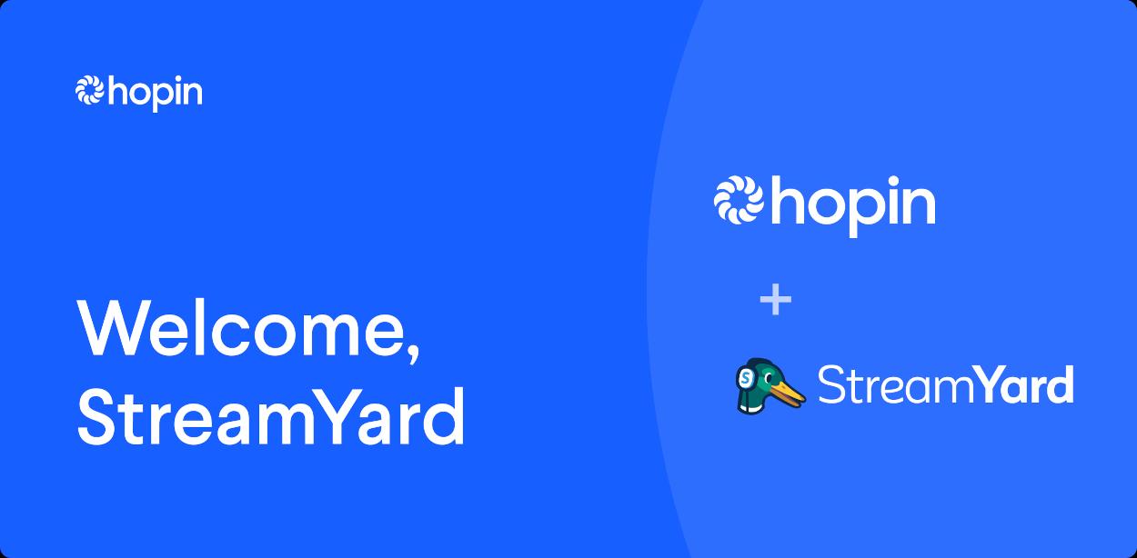 Hopin compra StreamYard per la sua piattaforma di eventi virtuali thumbnail