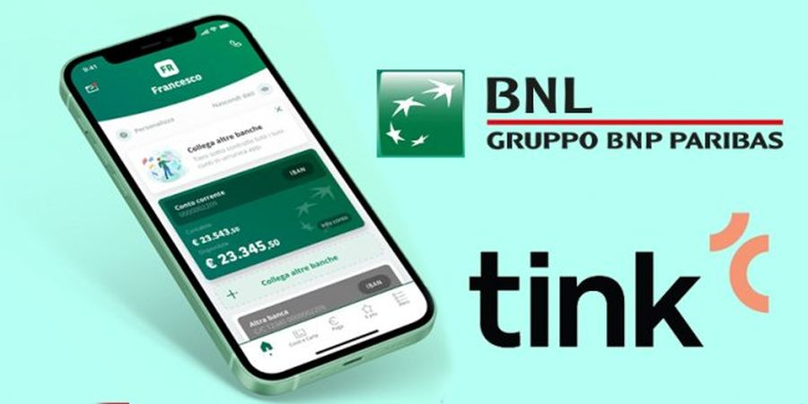 BNL BNP Paribas in partnership con la piattaforma open banking Tink thumbnail