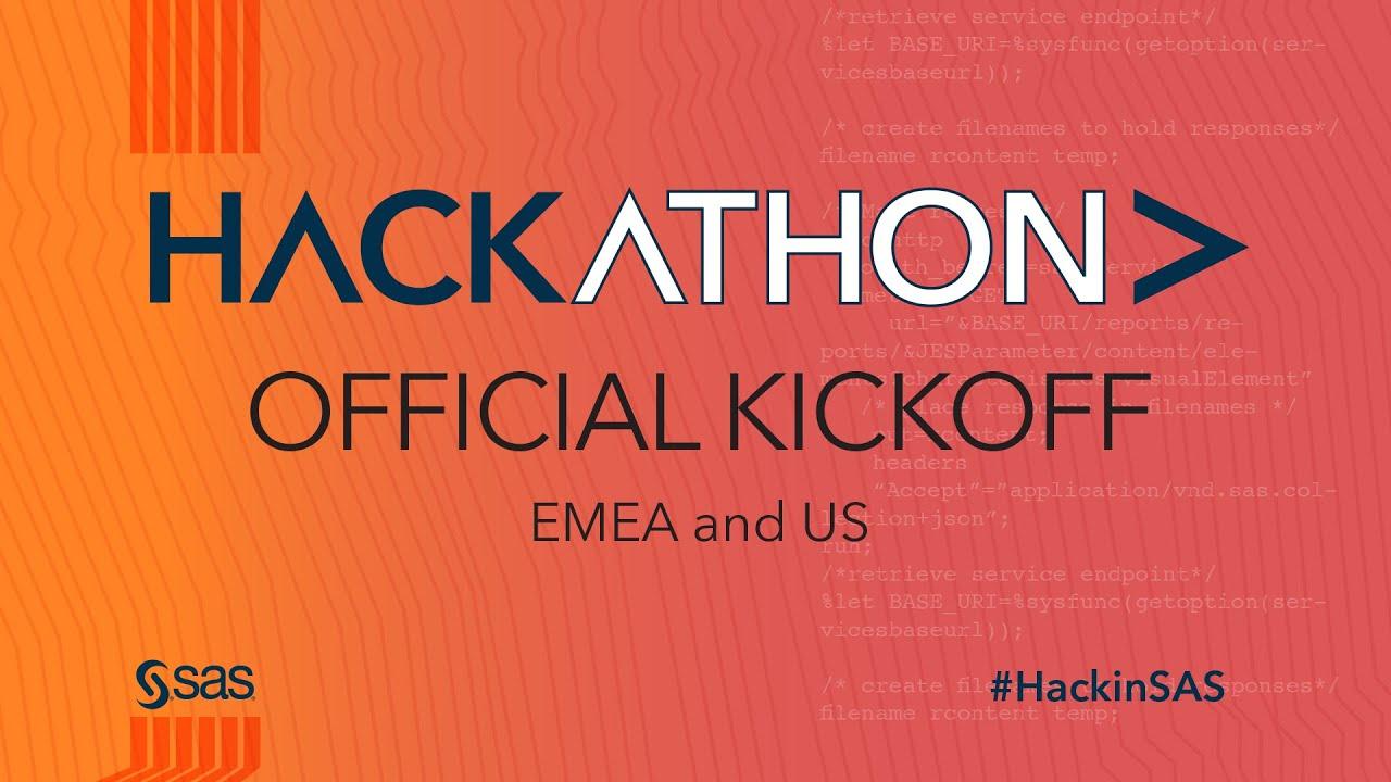 HackinSAS: l'hackathon di SAS per risolvere le sfide sociali e del mondo business thumbnail