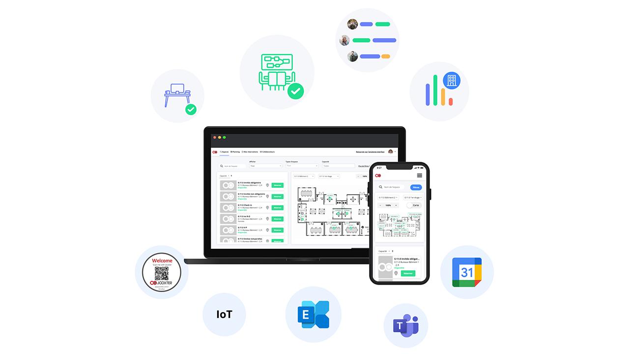 Jooxter presenta al CES 2021 la sua nuova piattaforma per la gestione dello spazio di lavoro thumbnail