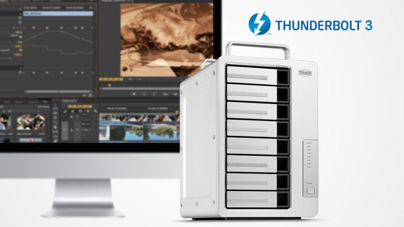 TerraMaster D8 Thunderbolt 3, il DAS veloce pensato per i creativi thumbnail
