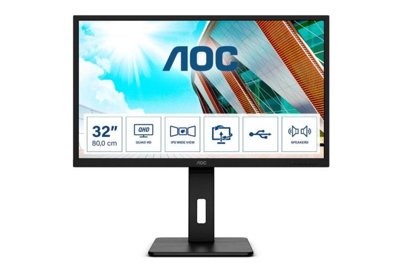 AOC, in arrivo tre nuovi monitor professionali thumbnail