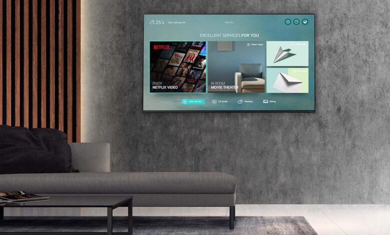 LG Netflix partnership Hotel TV