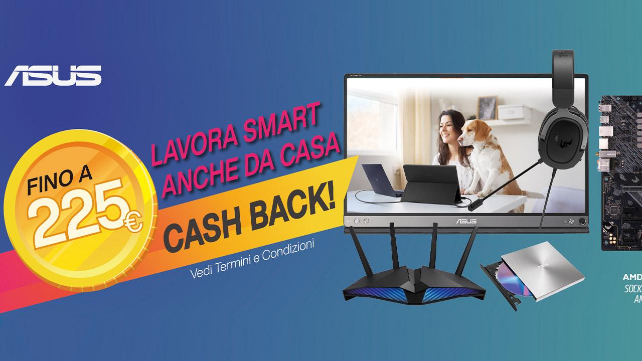 Il cashback di ASUS per lo smart working thumbnail
