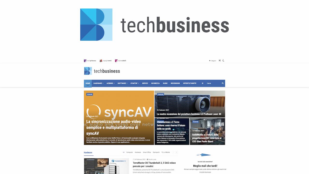 Tech Business è tutto nuovo thumbnail