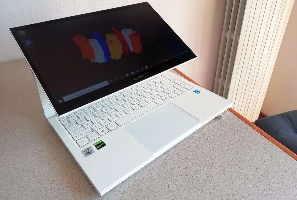 La nostra recensione di Acer ConceptD 3 Ezel: spazio alla creatività thumbnail