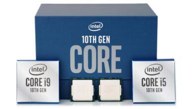prezzi processori Core di decima generazione