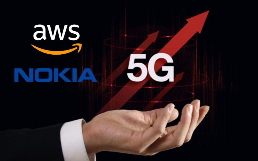 Nokia e AWS, la partnership per soluzioni 5G cloud-based thumbnail