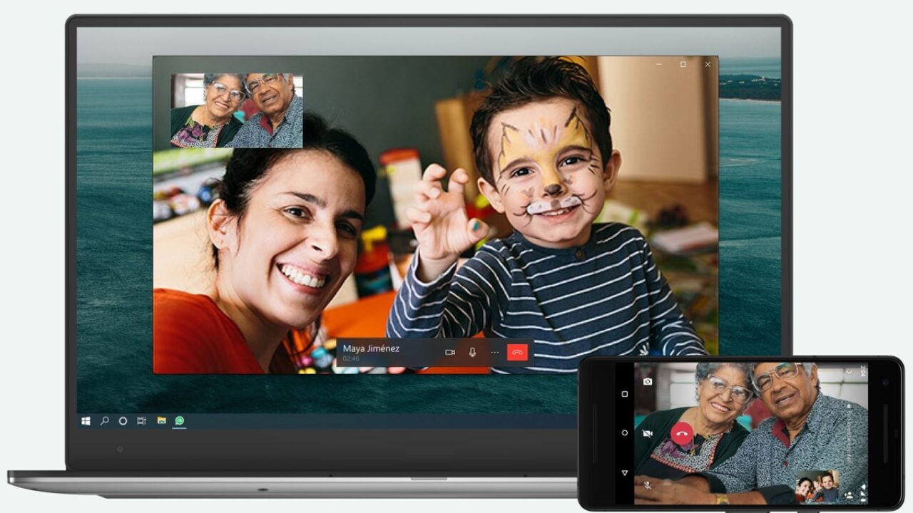 Whatsapp: da oggi le videochiamate si fanno anche dal desktop thumbnail