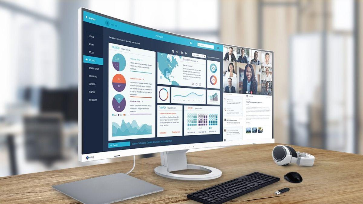Recensione EIZO FlexScan EV3895: produttività in ampio formato thumbnail