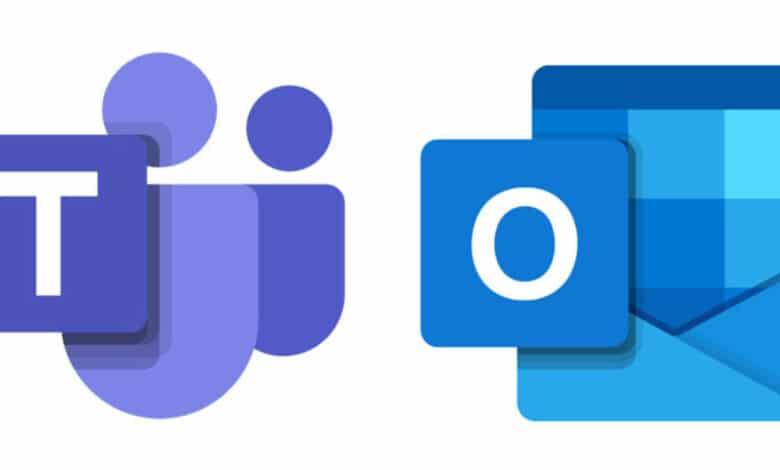 Outlook integrazione Microsoft Teams