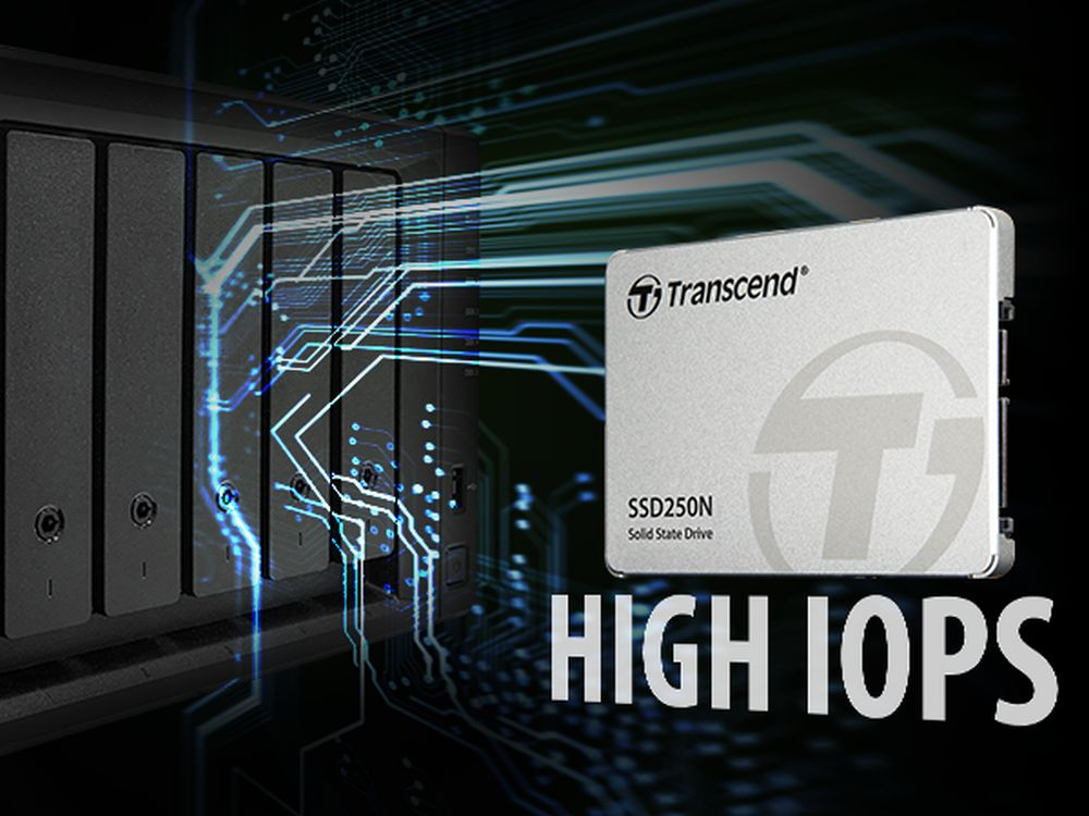 Transcend presenta SSD250N per i NAS di livello enterprise thumbnail