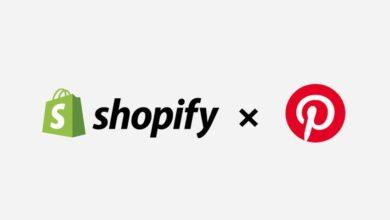 social commerce Pinterest Shopify
