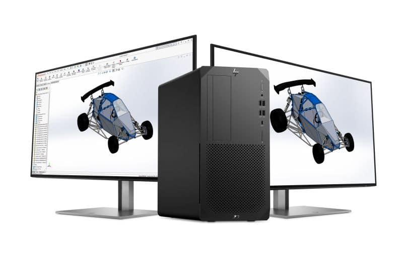 HP desktop Z NVIDIA