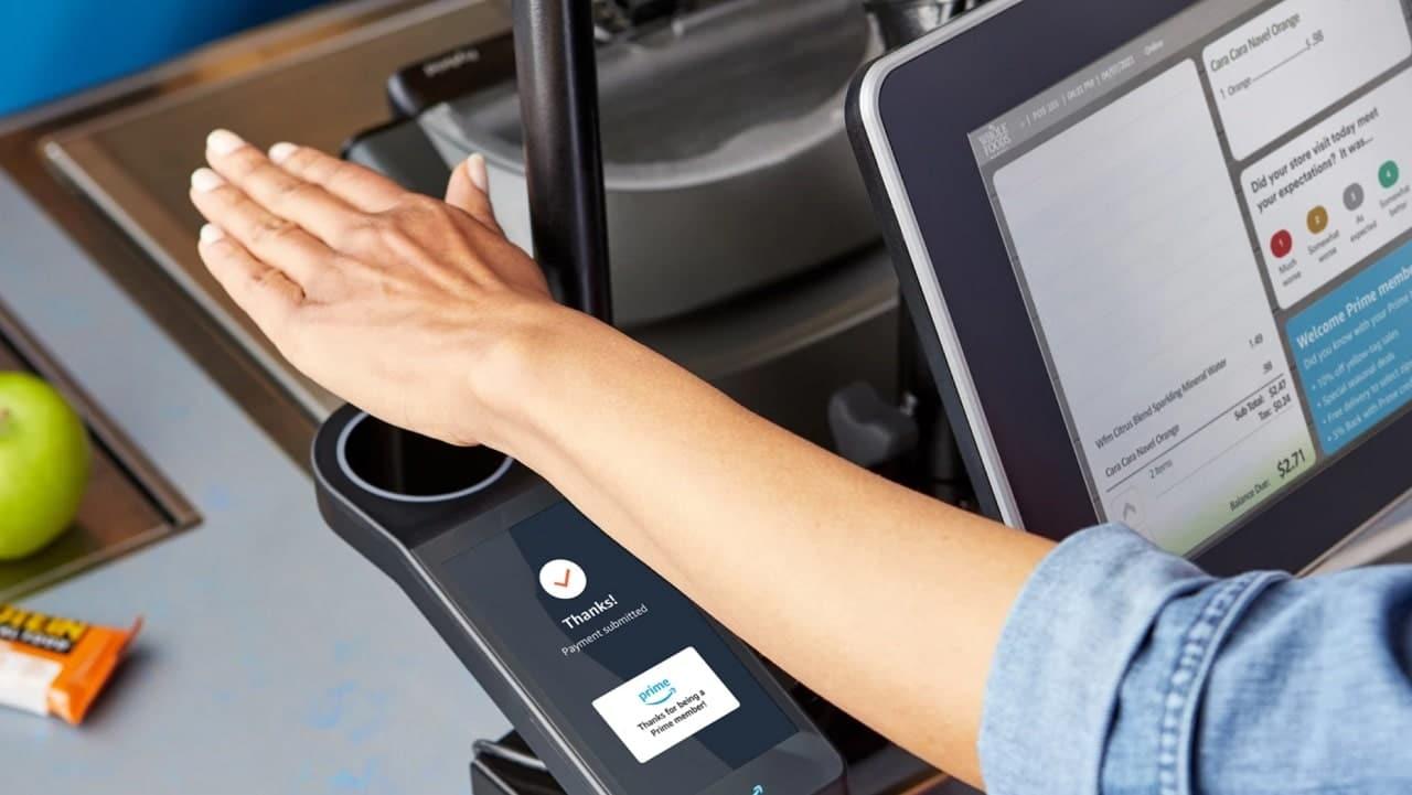 Amazon porta i pagamenti con il palmo della mano nei suoi negozi Whole Foods thumbnail