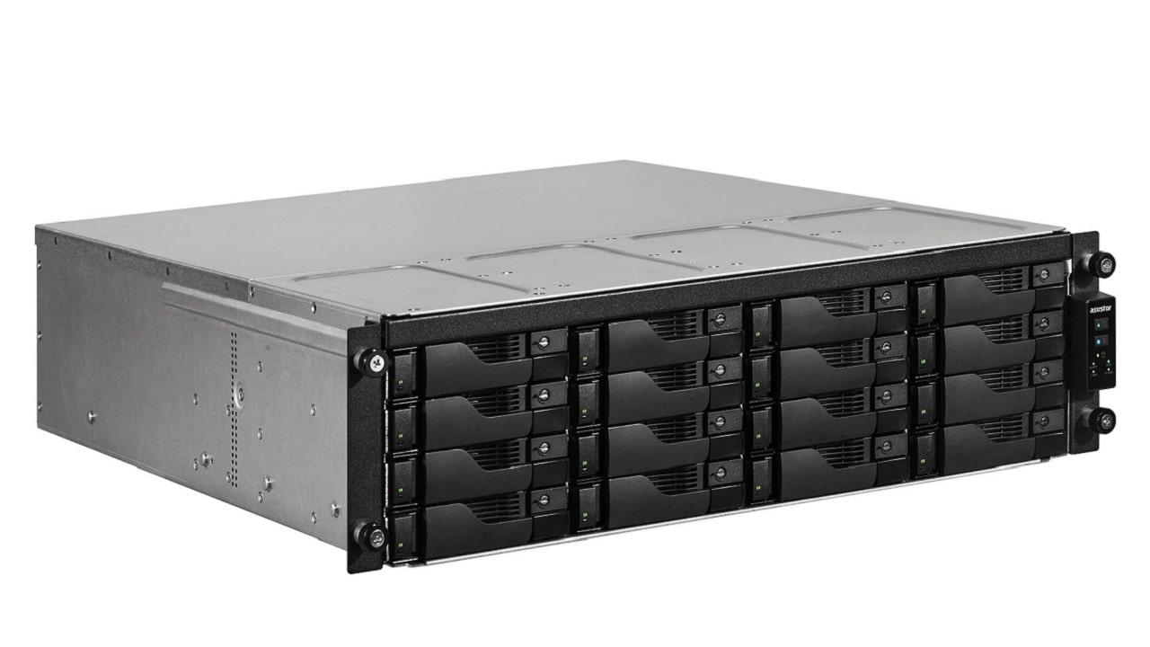 I NAS rackmount Asustor hanno una capacità di archiviazione massima di 288 TB thumbnail