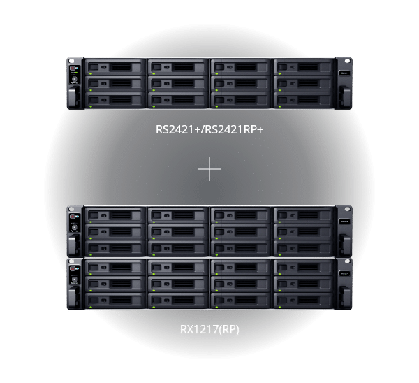 Synology RackStation RS2421+ RS2421RP+