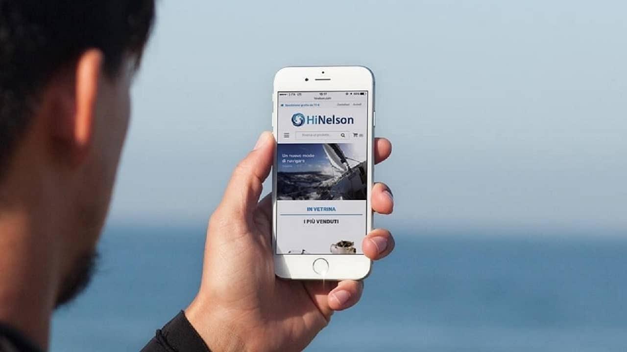 HiNelson prende il largo con l'e-commerce di PrestaShop thumbnail