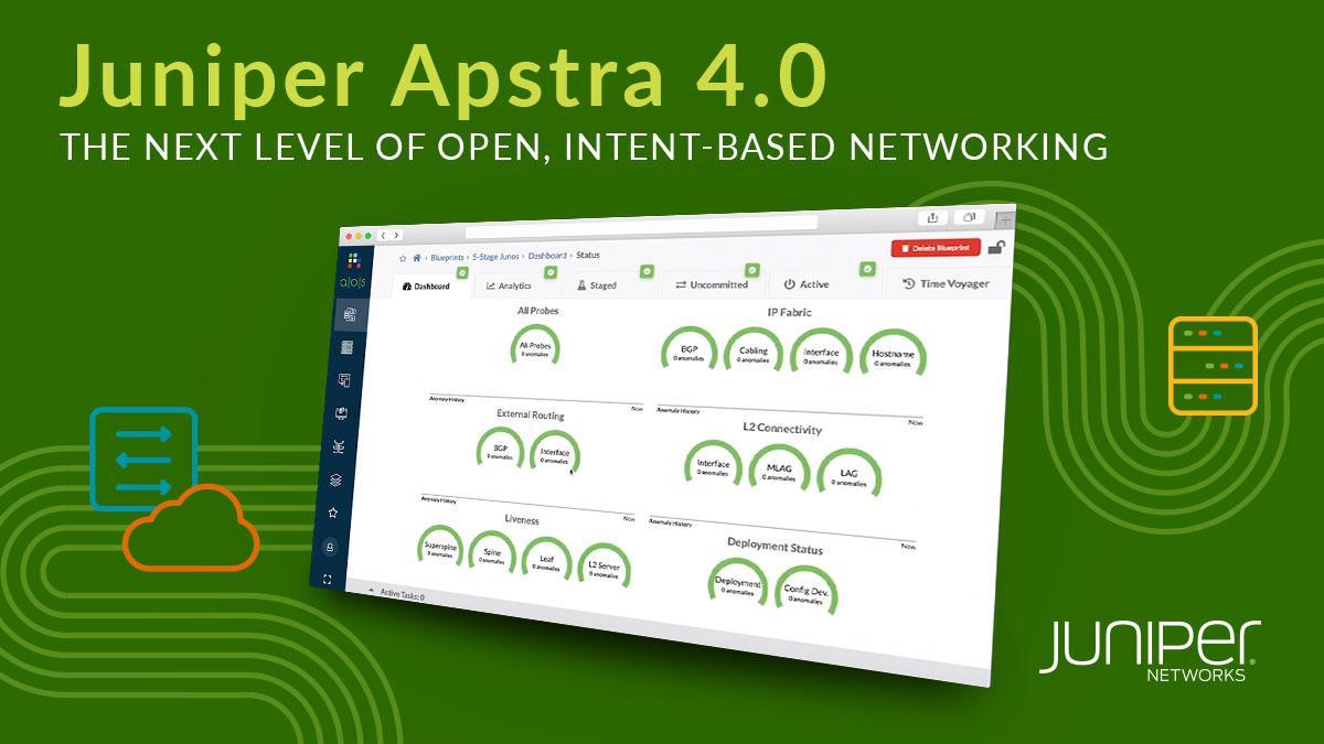 Juniper Networks aggiorna la soluzione di networking intent-based Apstra thumbnail